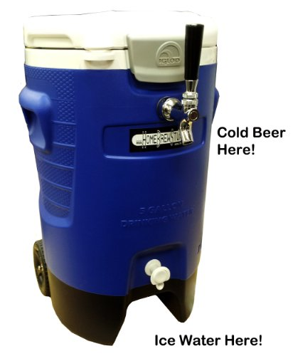Portable Refreshment Device (PRD) - Single Tap Sport Draft Beer Jockey Box (Draft Beer Box)