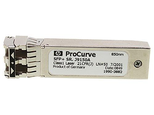 HP PROCURVE X132 10G SFP+ LC SR TRANSCEIVER J9150A 1990-3882 by DCC