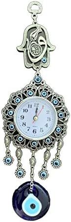 Crystal Florida Evil Eye Clock
