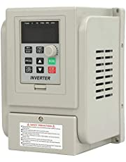 VFD Drive Inverter 0.75kW 220V AC, Single-Phase Variable Frequency Drive Inverter, VFD Speed Controller for Single-Phase 0.75kW AC Motor