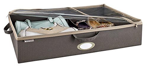 ClosetMaid 31495 Under-Bed Fabric Storage Bag, (Zipper Top Bin)
