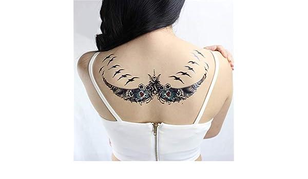 tzxdbh 3Pcs-Etiqueta engomada del Tatuaje a Prueba de Agua Cool ...