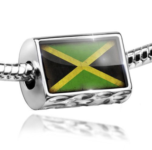 Charm Jamaica Flag with a vint