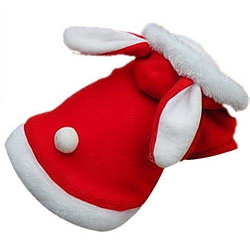 Smile YKK Häschen Muster Haustier Kostüm Bekleidung Pullover XL Rot