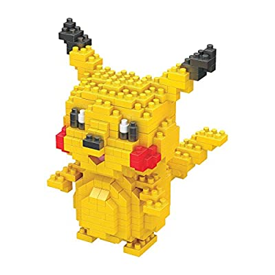 CNAK Pikachu Micro Brick Miniature Building Blocks for Combination molding Pokepet Building Kit (Pikachu): Toys & Games