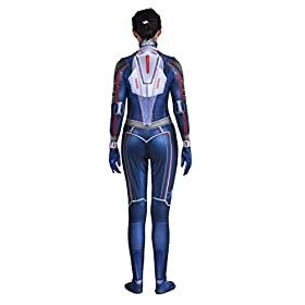 - 419N25iwCNL - Riekinc Spandex Bodysuit Womens Zentai Suits Cosplay Costume Audlt/Kids