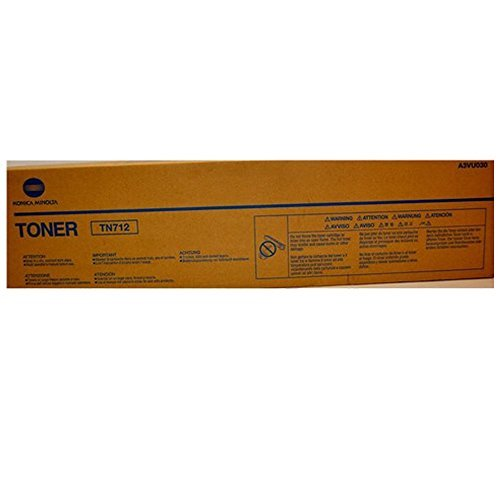 KONICA MINOLTA TN-712 Black Original Toner (40,800 Yield)