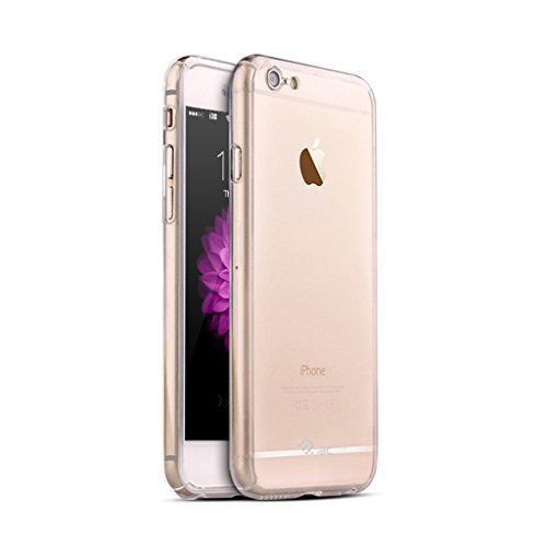 iPhone 6 Case,iPhone 6S Case,I3C 360 All Round Protective Case for iPhone 6/6s 4.7 Inch Transparent iPhone 6/6s Case Clear