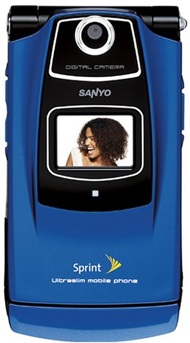 SANYO KATANA SCP 6600 BLUE SPRINT CAMERA CELL PHONE ()