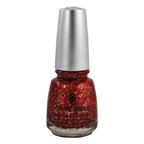 - China Glaze Nail Polish Eye Candy 3d LOVE MARILYN 80770 Lacquer .5 oz Glitter