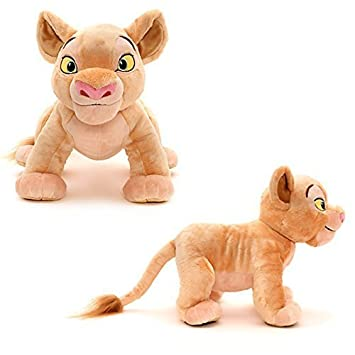 Oficial 30cm Disney El Rey León Nala suave peluche de juguete