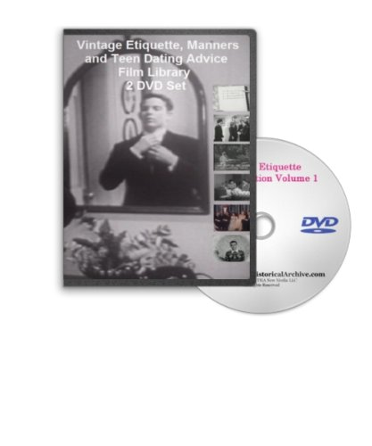 Etiquette, Manners, Table Manners with Emily Post, Dining and Teen Dating Advice Film Library 2 DVD Set (Dating Manners)