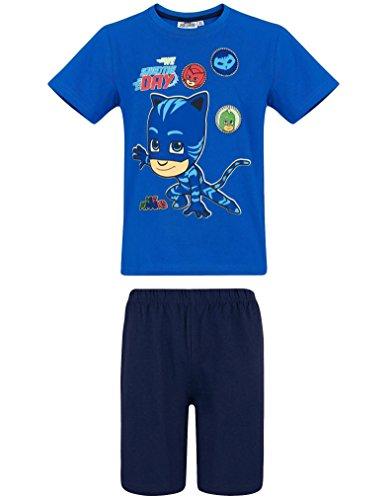 e973dfc882 PJ Masks - Pyjamahelden Schlafanzug Jungen Kurz