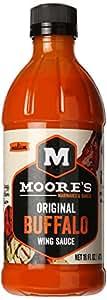 Moore's Buffalo Wing Sauce, 16 fl oz