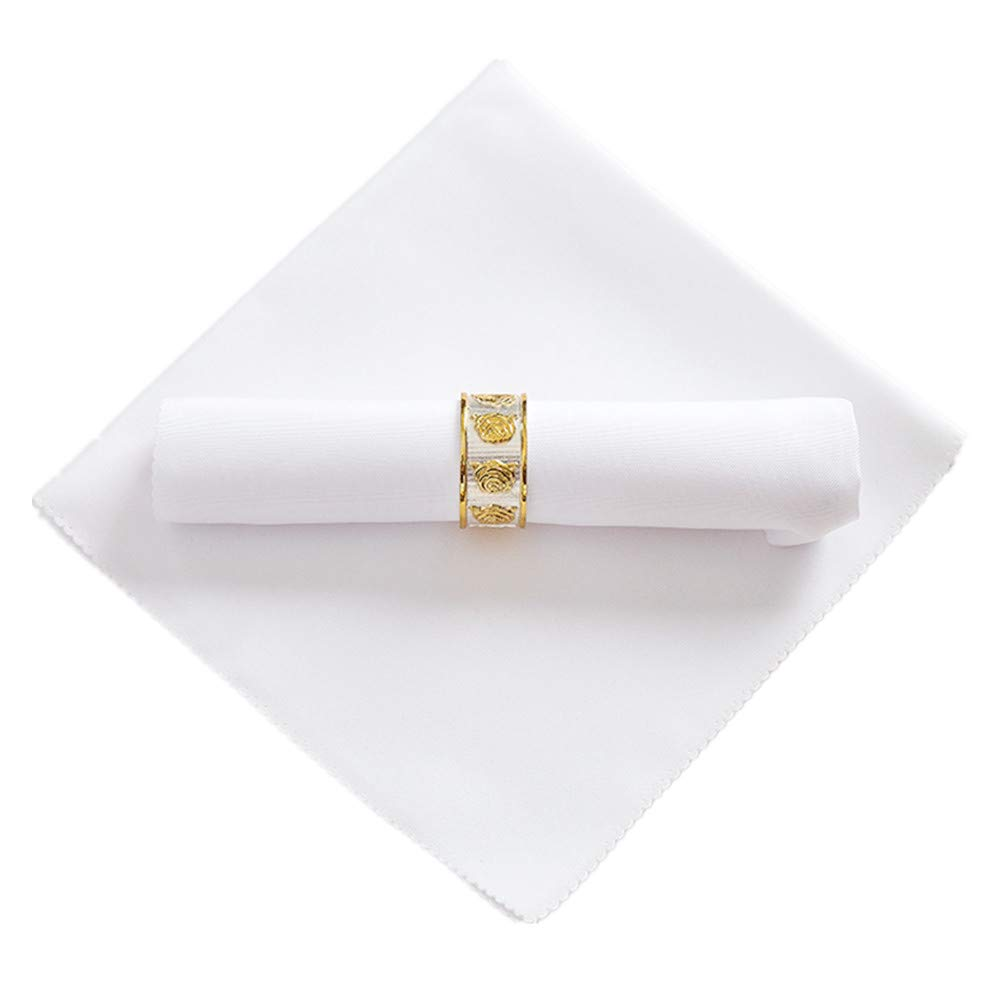 These Elehere Cloth Dinner Napkins Are Nice & Large!