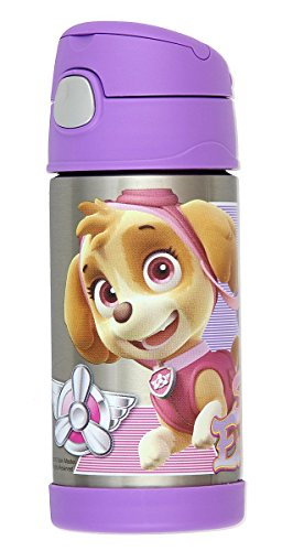 Thermos Insulated Straw Bottle Patrol