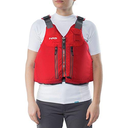 NRS Clearwater Lifejacket (PFD)-Red-L/XL