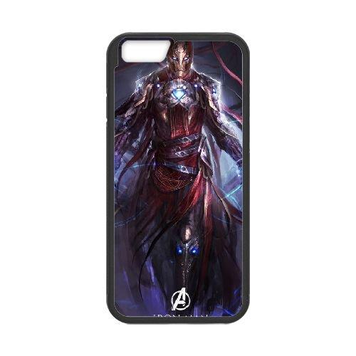 Avengers Age Of Ultron Black coque iPhone 6 Plus 5.5 Inch Housse téléphone Noir de couverture de cas coque EBDOBCKCO12065