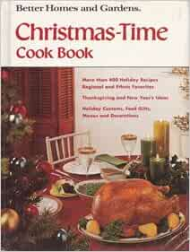 Better Homes And Gardens Christmas Time Cook Book Better