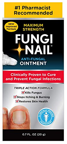 Fungi-Nail Anti-Fungal Ointment, 0.7 Ounce - Kills Fungus That Can Lead To Nail Fungus & Athlete's Foot w/ Tolnaftate & Clinically Proven to Cure Fungal - Antifungal Nail Cream