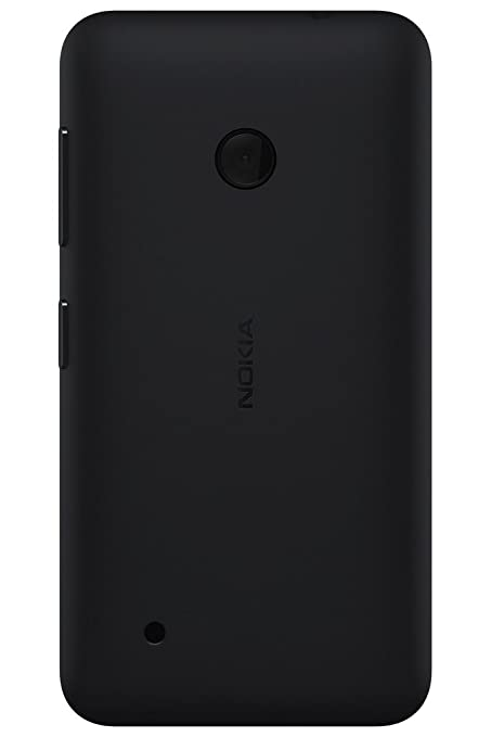 wholesale dealer 45b1b d91e2 ShoppKing Back Replacement Cover for Nokia Lumia 530 - Black