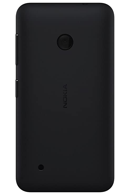 wholesale dealer ec3b6 02be6 ShoppKing Back Replacement Cover for Nokia Lumia 530 - Black