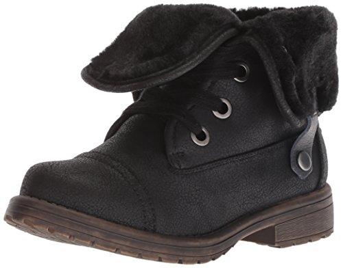 Roxy Kid Girl Bruna Boot, Black, 4
