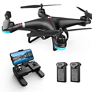 Holy Stone HS110G GPS FPV Drone with 1080P HD Live Video Camera for Adults and Kids, RC Quadcopter with GPS Auto Return…