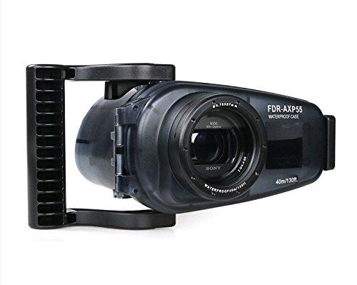 MEIKON 40m/130ft Underwater video camera housing for 4K Hand