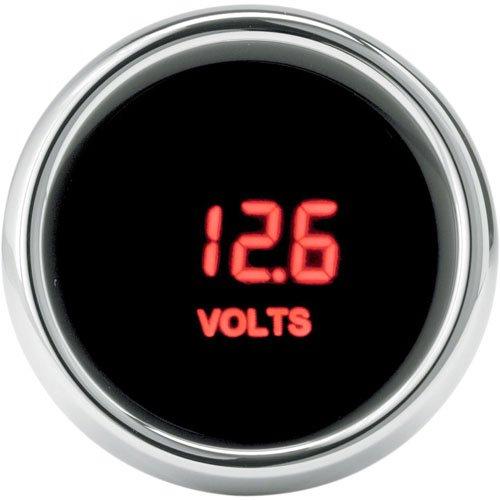 DAKOTA DIGITAL(ダコタデジタル) MCL-3000 ボルトメーター RED LED ハーレー用   B078SMTCLB