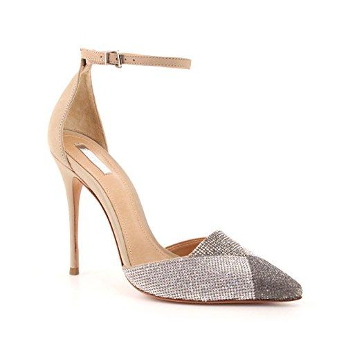 SCHUTZ 20910103 - Sandalias para mujer OYSTER
