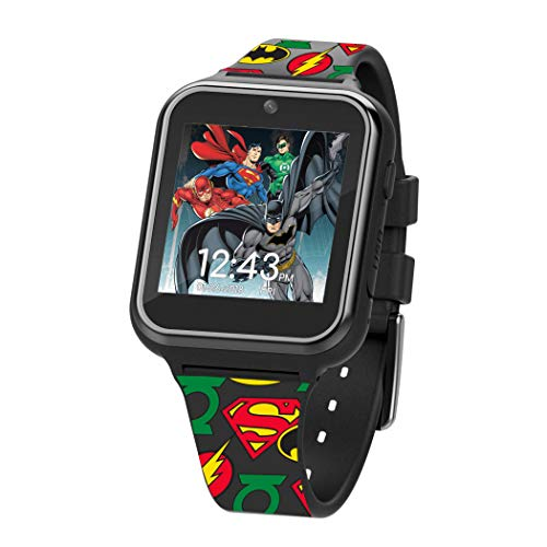 Reloj SmartWatch Dc Comics Justice League Touchscreen Intera