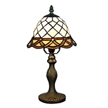Table Lamps Tiffany Style 8 Inch Lampshade for Bedroom Cafe
