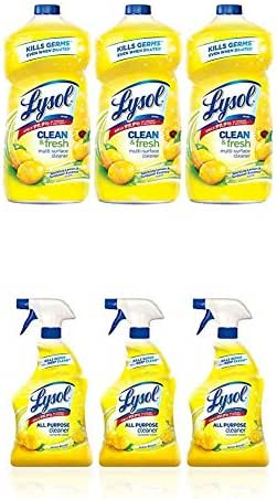 Multi-Surface Cleaner: Lysol All Purpose