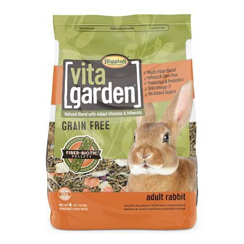 Higgins Vita Garden Rabbit Food, 4 Lbs, Large