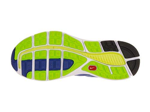 Nike Kids Lunarglide 3 (gs) Mega Blauw / Zwart / Wit / Wlf Hardloopschoen 4 Kids Us