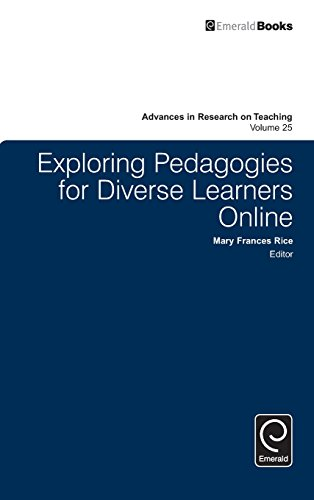 Exploring Pedagogies for Diverse Learners Online (Advances in Research on Teaching)