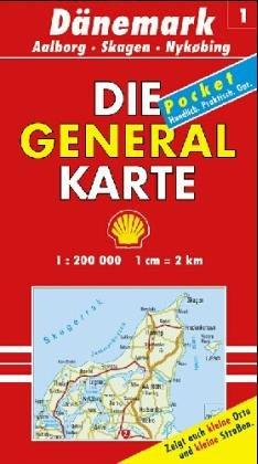 Die Generalkarten Dänemark, Bl.1, Skagen, Alborg (Maßstab 1:200.000)