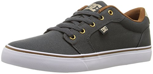 Street Chr (DC Men's Anvil TX Skateboarding Shoe, Charcoal, 8.5 M US)