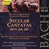 Edition Bachakademie Vol. 65 (Weltliche Kantaten BWV 208-209)