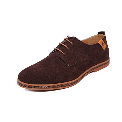 ZhaoDao158 Men Big Size Fashion Leather Oxfords Shoes