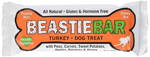 Ethical Pets 20 Piece Kettle Creek Farms All Natural American Farmed and Produced Beastie Bar Dog Treat, Turkey