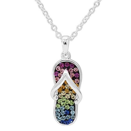Crystalogy Silver Plated Rainbow Crystal