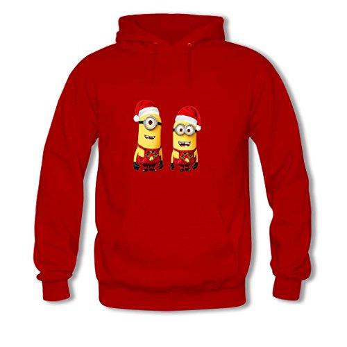 Christmas Minionmens Pullover Hoody