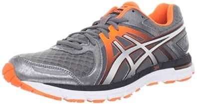 ASICS Men's Gel-Excel33 2 Running Shoe,Titanium/Lightning/Flash Orange,8 M US