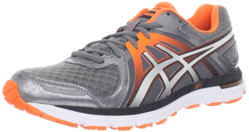 Asics Menns Gel-excel33 2 Løpesko Titan / Lyn / Flash Orange