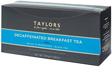 Taylors of Harrogate Decaffeinated Breakfast, 100 Count (Pack of 1)