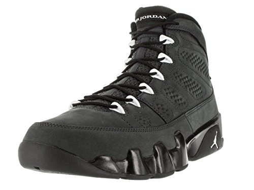 Nike Air Jordan 9 Retro, Scarpe Sportive Uomo Multicolore (Blanco / Negro (Anthracite / White-black))