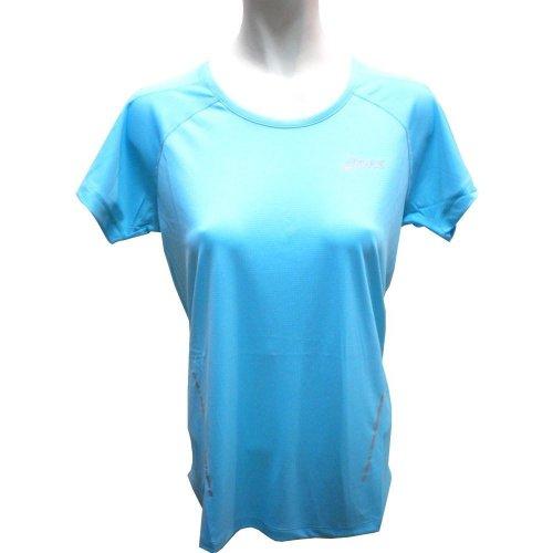 Asics Ss Camiseta, Hombre, Blanco (Aquarium), XS blanco (aquarium)