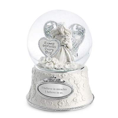Things Remembered Personalized Miracle Angel Musical Snow Globe with Engraving Included]()